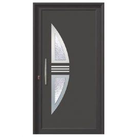 Πόρτα εισόδου αλουμινίου σε ραλ -ALUMIL M9400