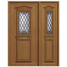 πόρτα παραδοσιακό πάνελ αλουμινίου Πόρτα εισόδου 601 K