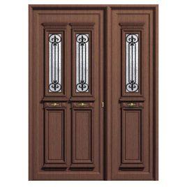 πόρτα παραδοσιακό πάνελ αλουμινίου Πόρτα εισόδου 802 K