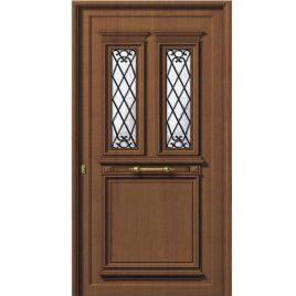 Πόρτα εισόδου πόρτα παραδοσιακό πάνελ αλουμινίου
