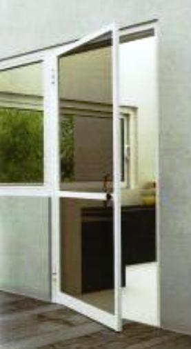πόρτα αναγόμενη αλουμινίου σήτα