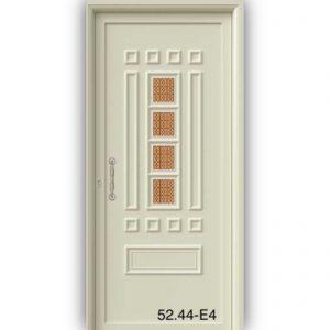 Πόρτα αλουμινίου με πάνελ